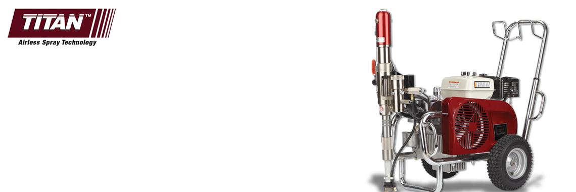 Гидравлические окрасочные аппараты безвоздушного напыления