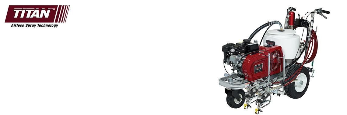 Разметчики безвоздушного напыления с гидравлическим приводом